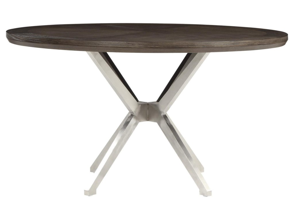 Homelegance Ibiza Mid-Century Modern Round Dining Table with ...