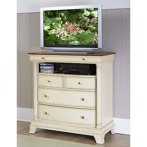 Homelegance Inglewood Cottage TV Chest with Media Shelf