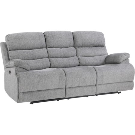 Power Reclining Sofa w/ Power Headrest