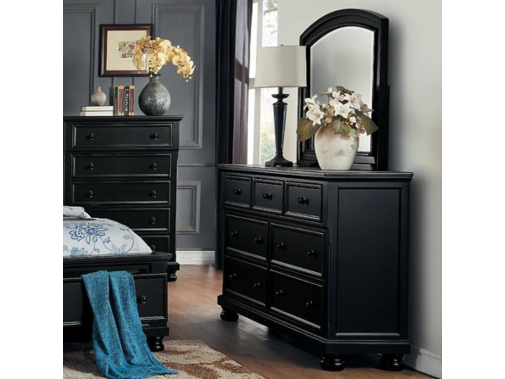 Homelegance LaurelinDresser and Mirror Combination