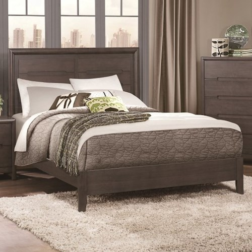 Homelegance Lavinia Contemporary Queen Headboard and Footboard