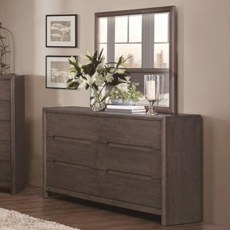 Homelegance LaviniaContemporary Dresser and Mirror