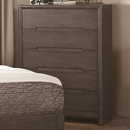 Homelegance Lavinia Contemporary 5-Drawer Chest of Drawers with Dovetail Joinery