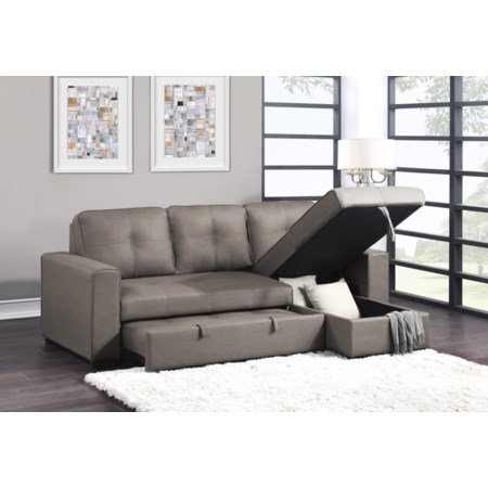 Reversible Sectional with Chaise