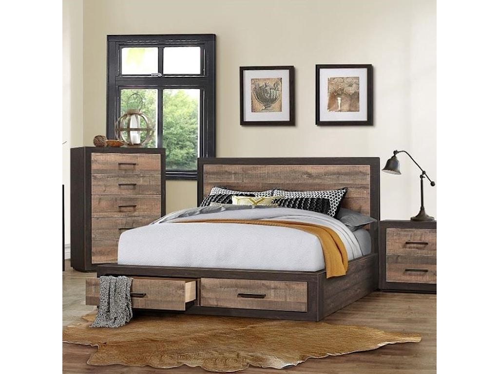 Homelegance MiterKing Platform Bed