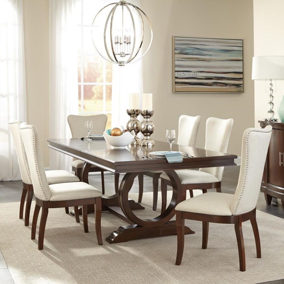 Oratorio Seven Piece Dining Set By Homelegance