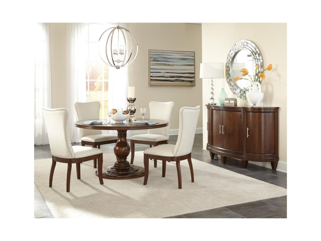 Homelegance OratorioFive Piece Chair & Table Set