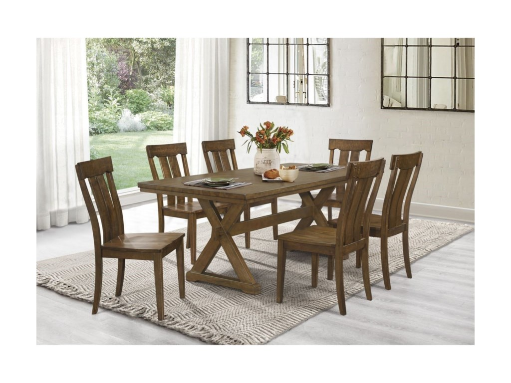 Homelegance Ormond7-Piece Table and Chair Set