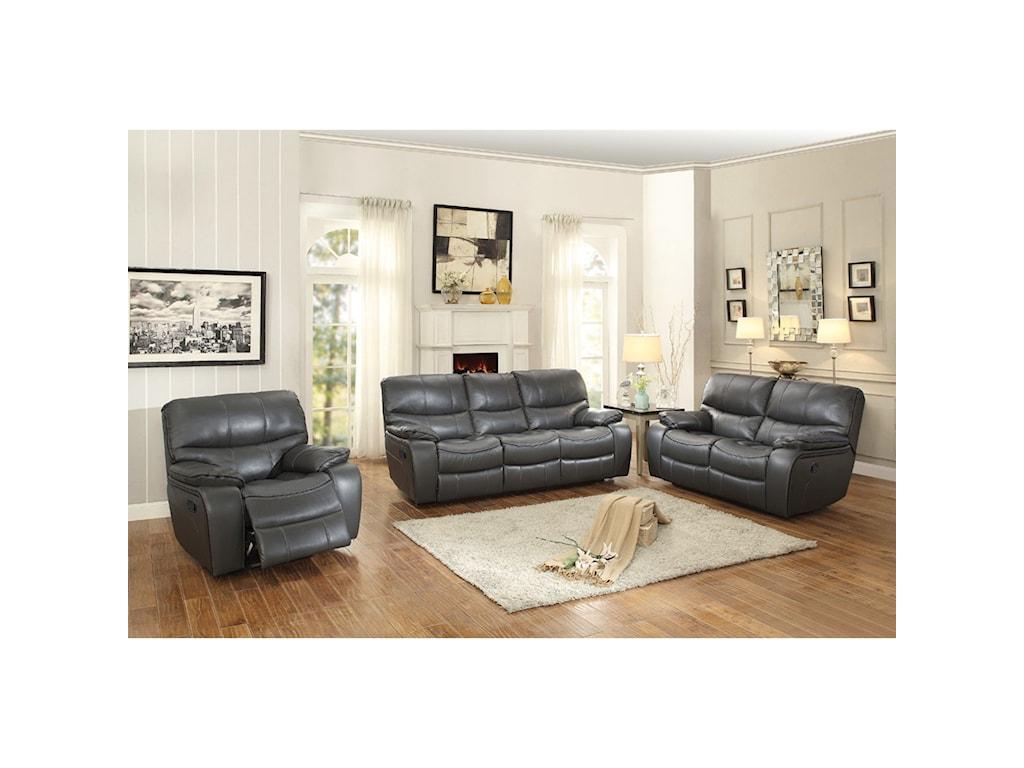Homelegance PecosCasual Reclining Sofa