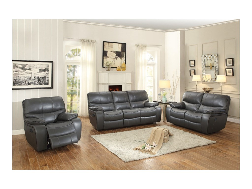 Homelegance PecosCasual Power Reclining Sofa