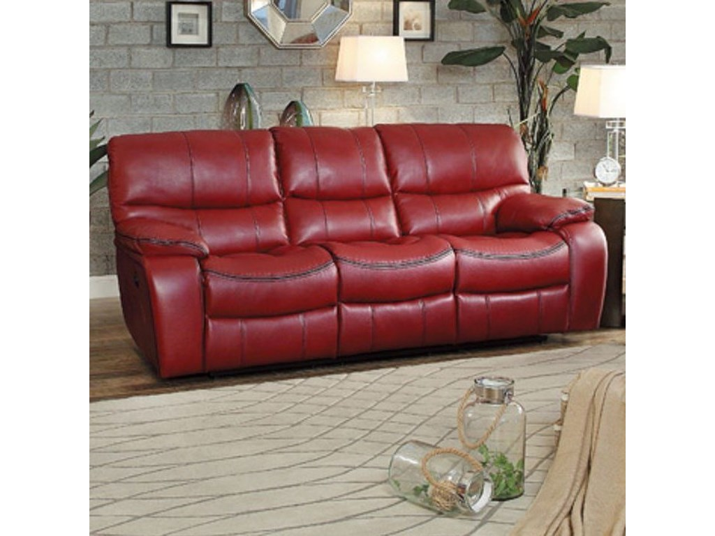 Homelegance PecosCasual Reclining Sofa