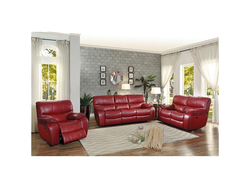 Homelegance PecosCasual Power Reclining Sofa