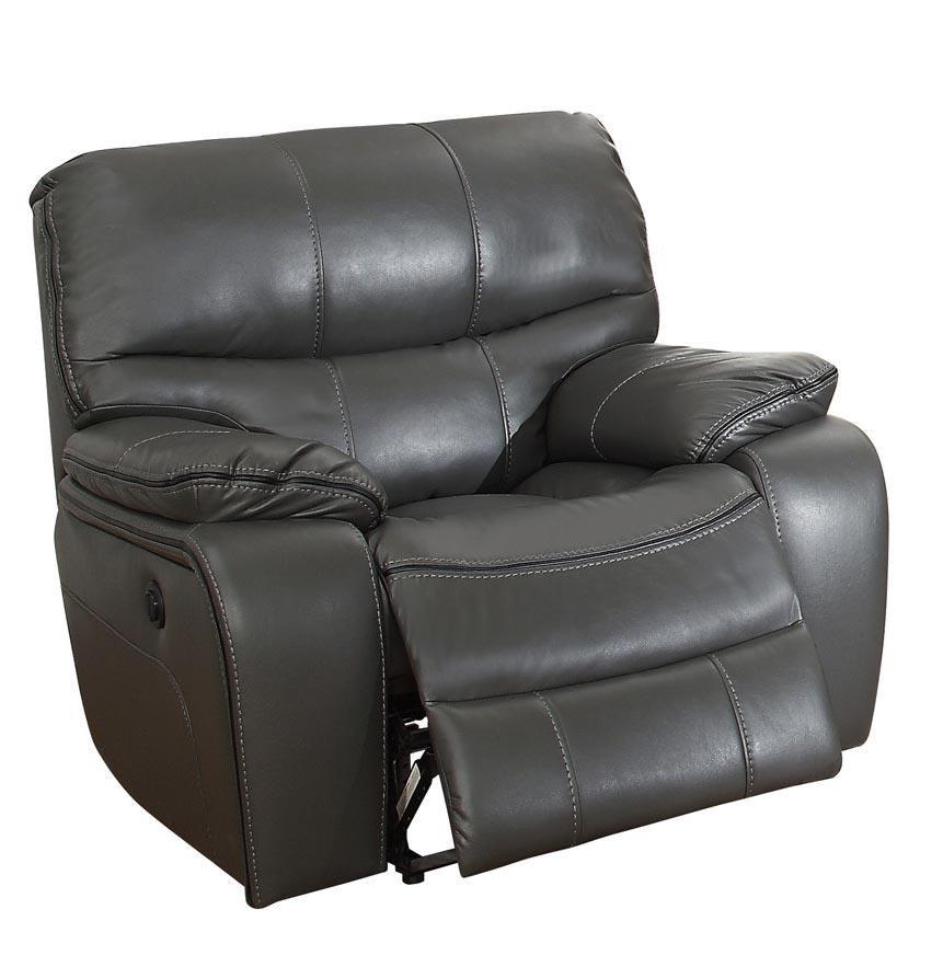 Homelegance Pecos Power Reclining Chair | Boulevard Home Furnishings | High  Leg Recliner