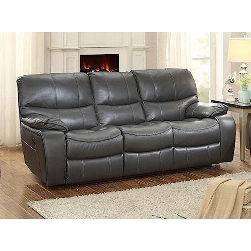 Homelegance Pecos Reclining Power Sofa