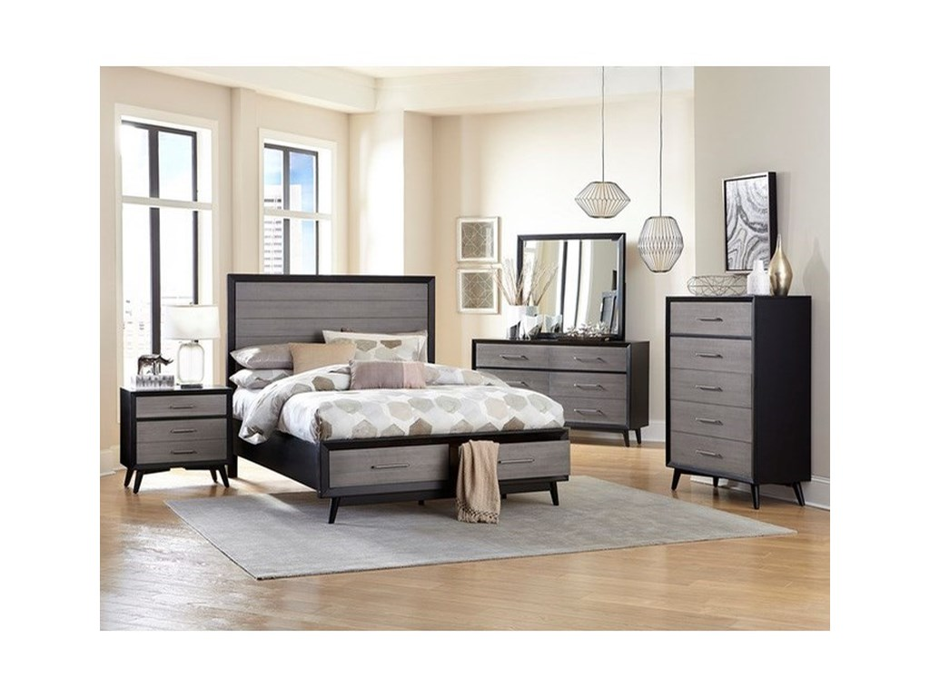 Homelegance RakuQueen Bedroom Group