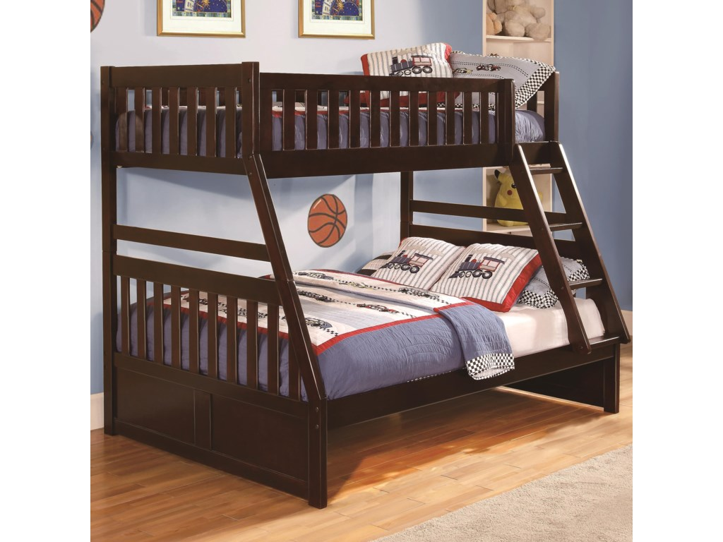 Homelegance RoweTwin Over Full Bunk Bed