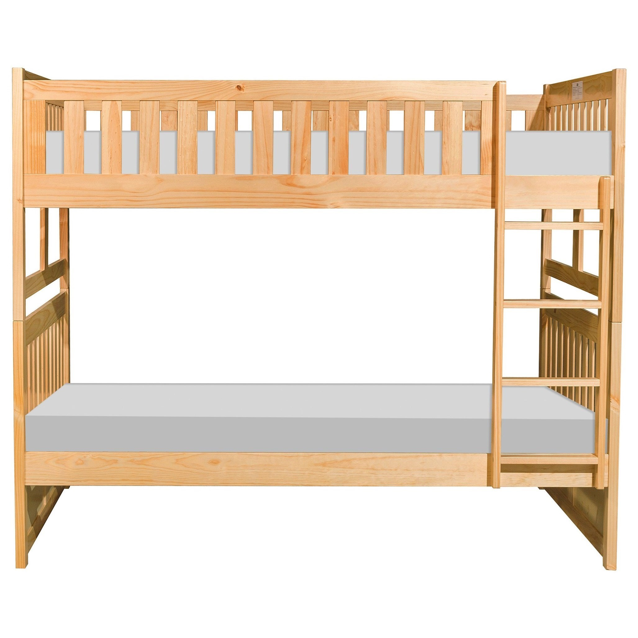 Casual Full Over Full Bunk Bed