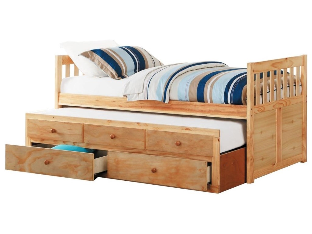 Homelegance BartlyTwin Captain's Bed