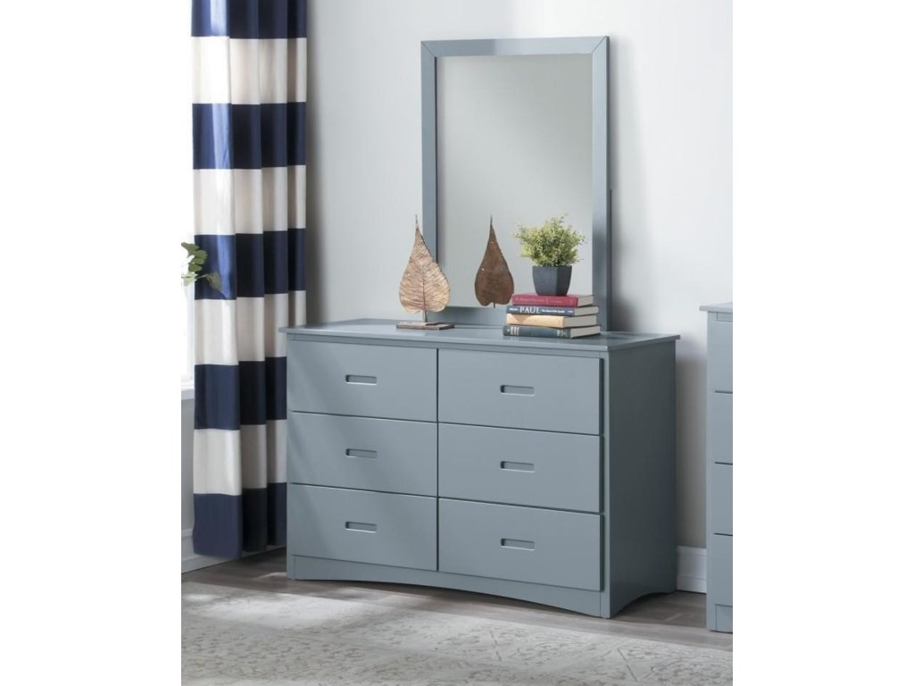 Homelegance OrionDresser and Mirror Set