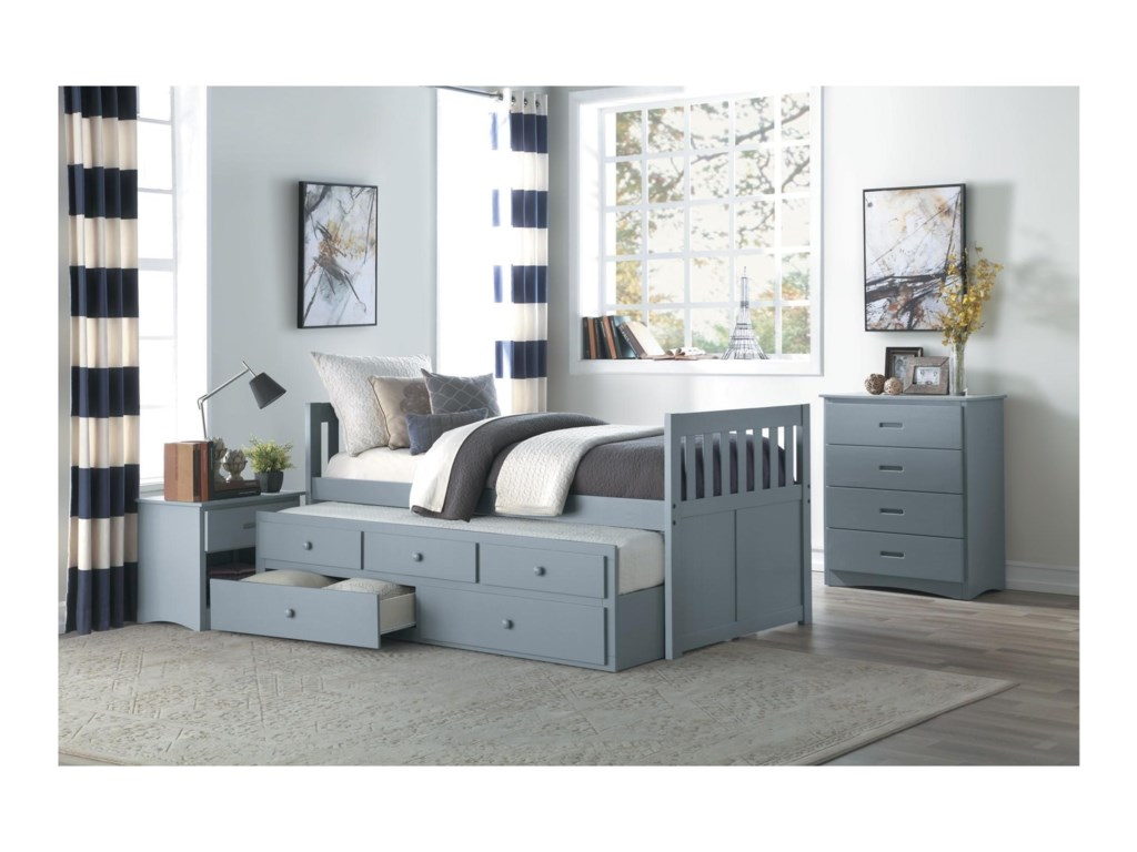 Homelegance Orion Chest of Drawers