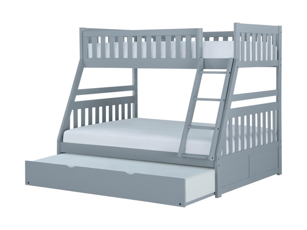 Homelegance OrionTwin Over Full Bunk Bed