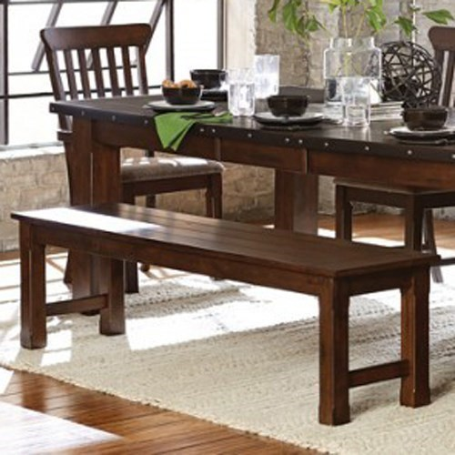 Homelegance Schleiger Industrial Dining Bench