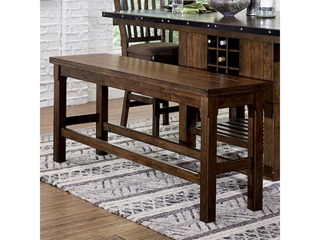 Homelegance SchleigerCounter Height Bench