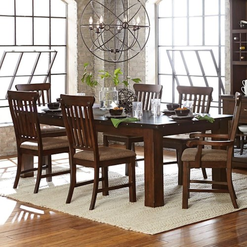 Homelegance Schleiger Industrial Table and Chair Set