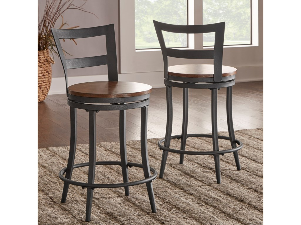 Homelegance SelbyvilleCounter Height Table and Chair Set