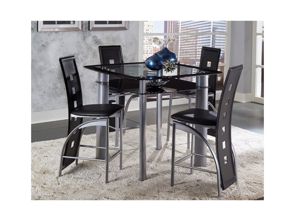 Homelegance SonaCounter Height Table and Chair Set