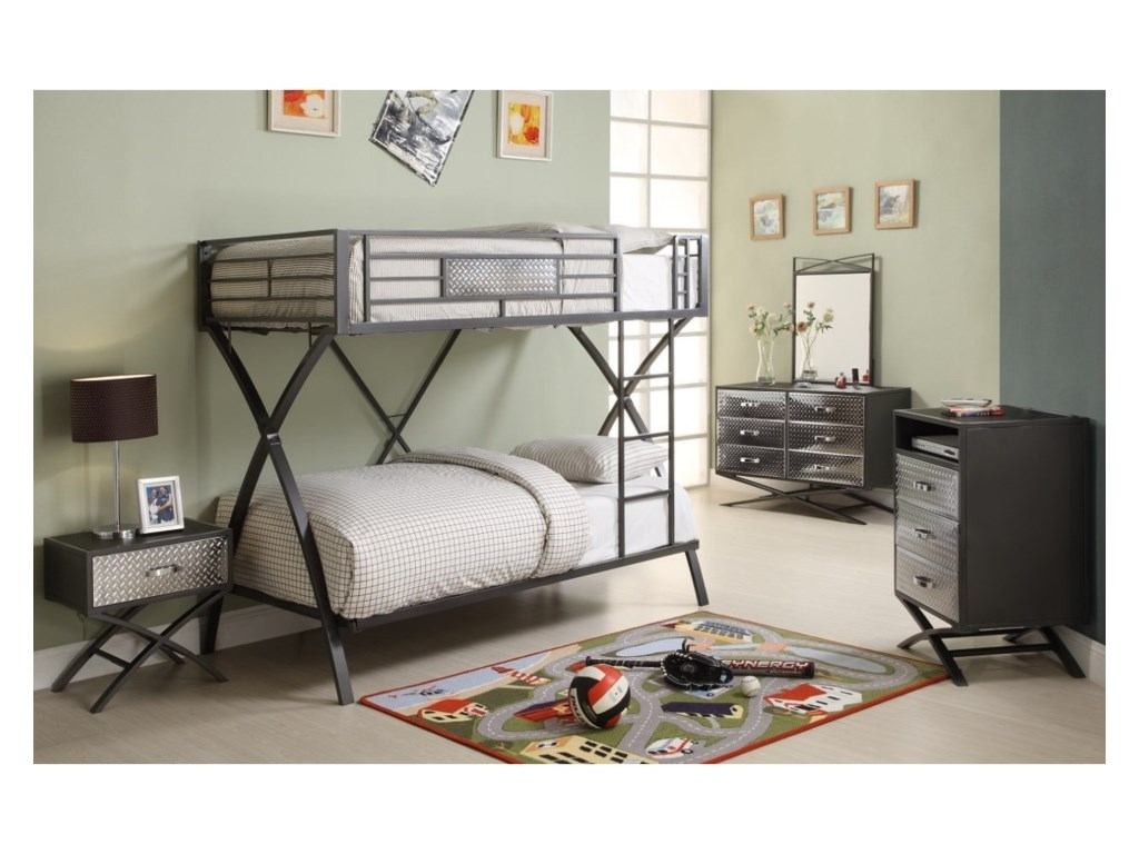 Homelegance Spaced OutBunk Bed