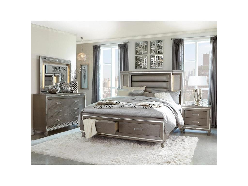 Homelegance TamsinKing Bedroom Group