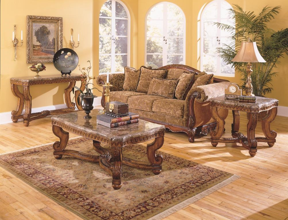 Shown with Sofa Table & End Table