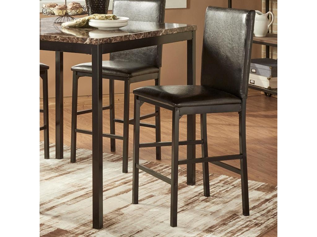 Homelegance tempecounter height stool