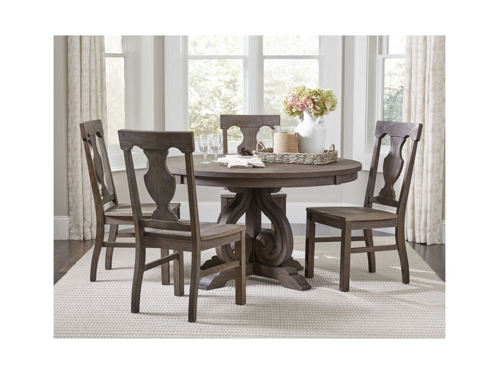 Homelegance Toulon5-Piece Table and Chair Set