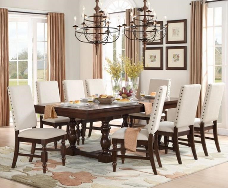 Homelegance Yates 9 Piece Table Chair Set