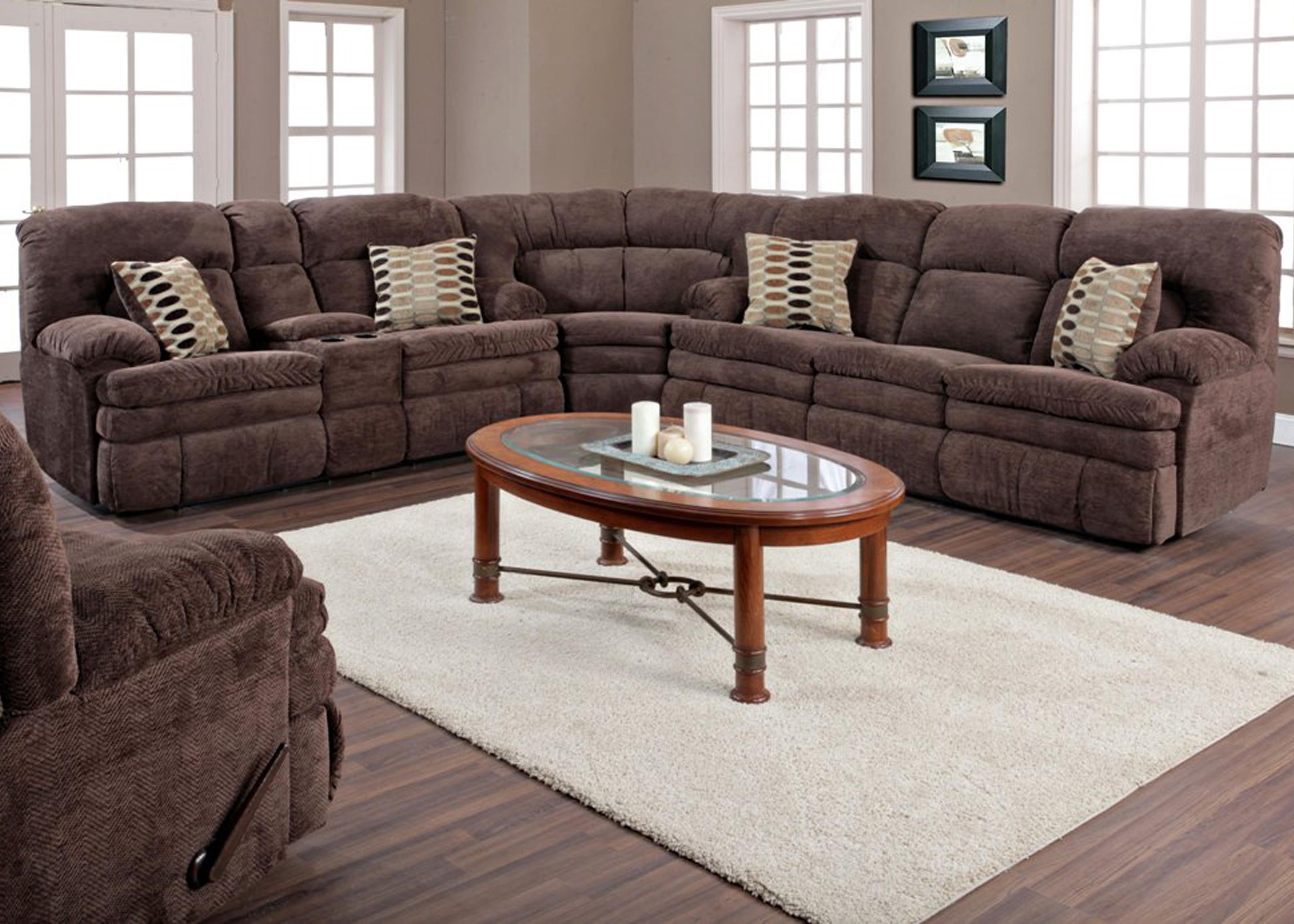 Exceptional Shown With Coordinating Collection Loveseat; Shown As Modular Component In  Sectional Configuration