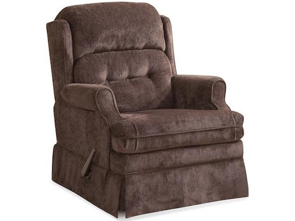 HomeStretch CarolinaCasual Swivel Glider Recliner