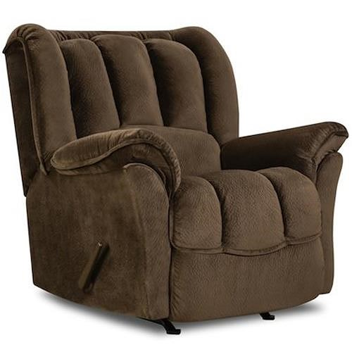HomeStretch 108 Casual Rocker Recliner