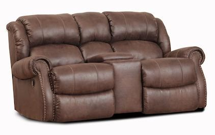 HomeStretch WyomingWyoming Rocking Console Loveseat