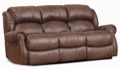 HomeStretch 120 - 22Double Reclining Sofa