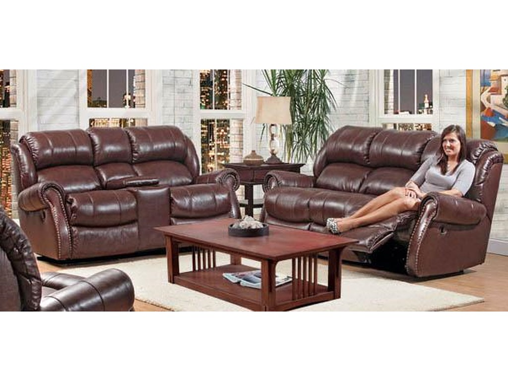 HomeStretch 120 - 22 Double Power Reclining Sofa