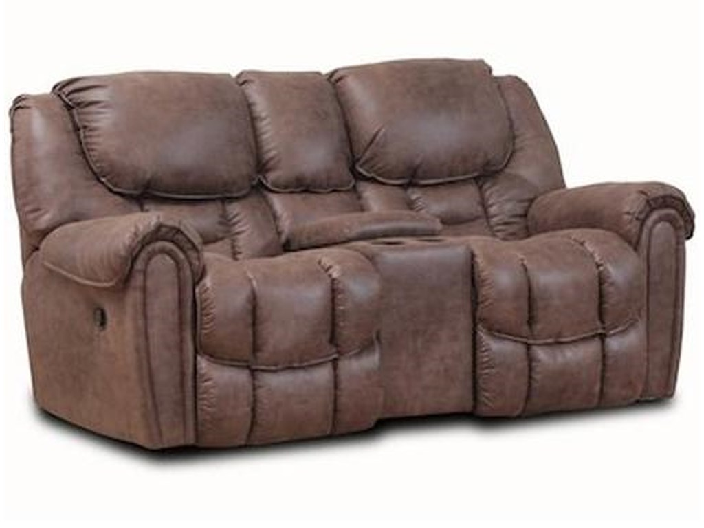 HomeStretch 122Casual Power Reclining Loveseat