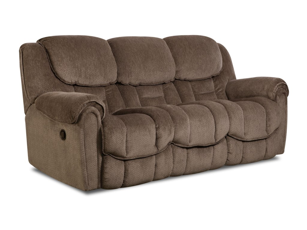 HomeStretch 122Casual Reclining Sofa