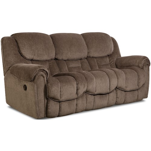 HomeStretch 122 Reclining Sofa