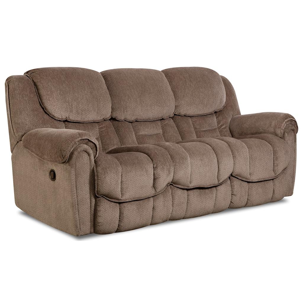 Comfort Living Baxter Casual Power Reclining Sofa With Pillow Top