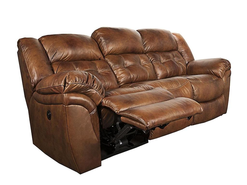 Morris Home Furnishings Elijah -Elijah Power Leather-Match* Sofa