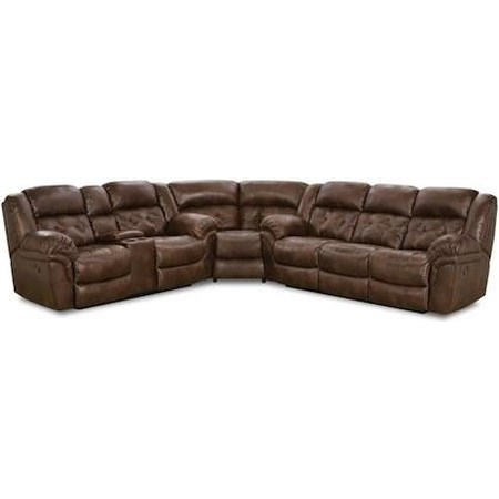 Power Super-Wedge Sectional