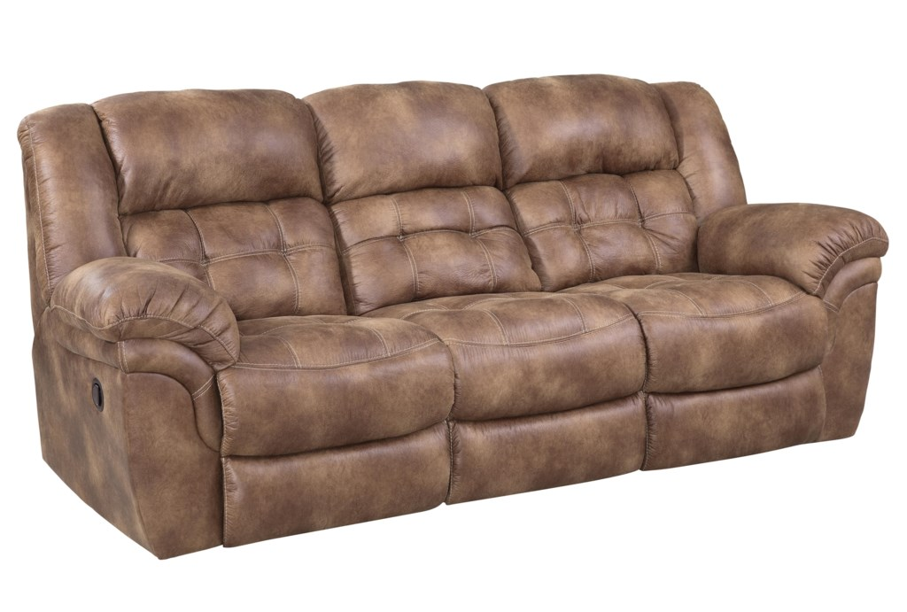Homestretch Padre 129 30 15 Almond Reclining Sofa Great American  ~ Best Place To Buy Reclining Sofa