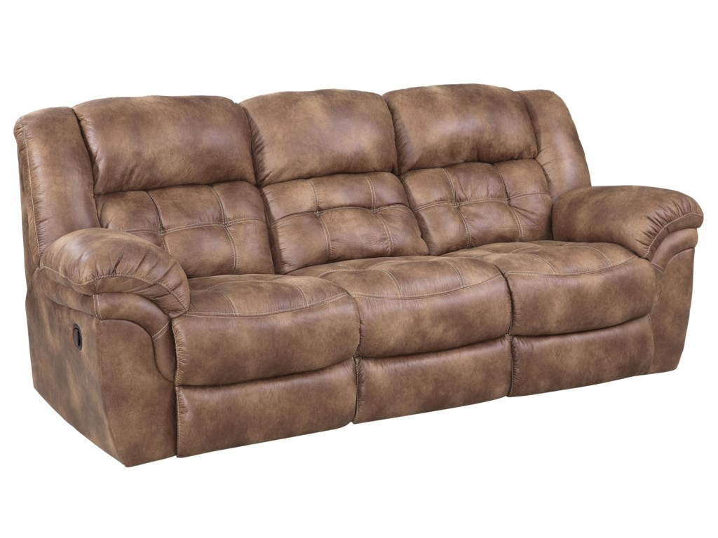 HomeStretch 129Power Reclining Sofa